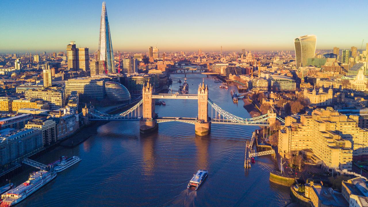 לונדון, נהר התמזה, צילום על