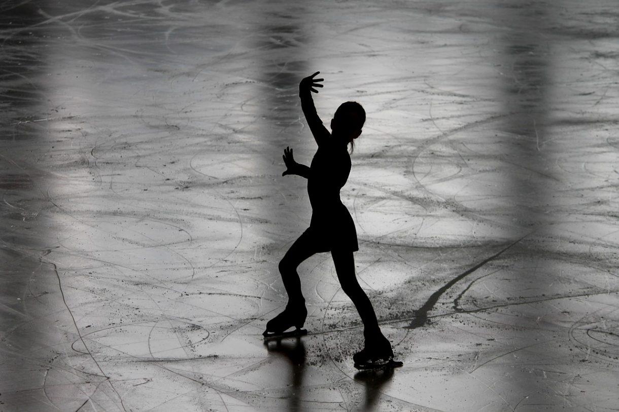 החלקה על הקרח בלונדון