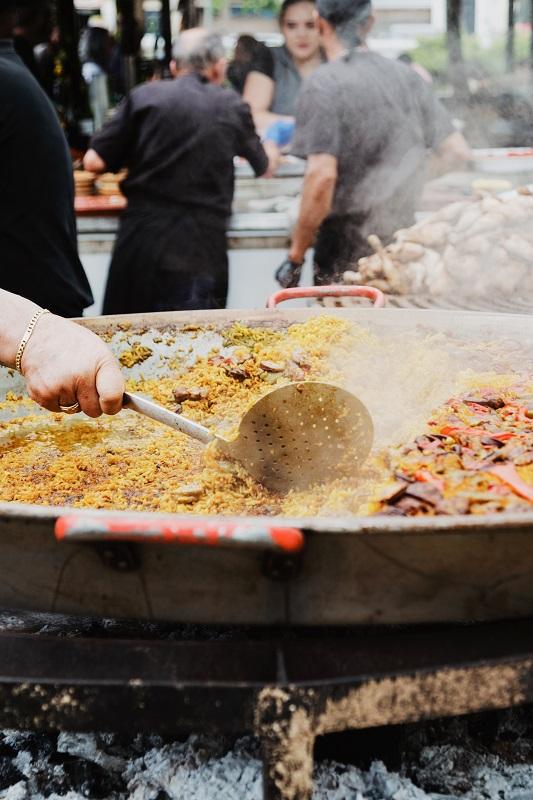 שווקי אוכל שווים בלונדון